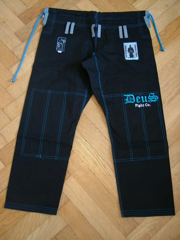 Deusfight The Panther Bjj Gi 12