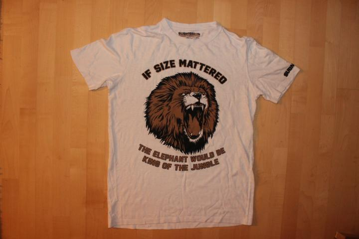 submission fc hemp shirt If Size Mattered 1