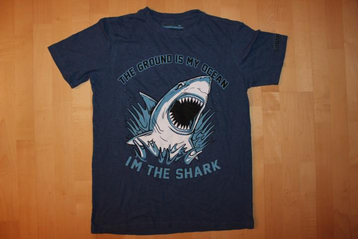 submission fc bjj t-shirt hemp shirt shark